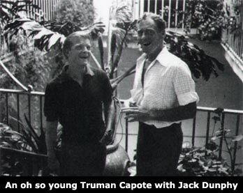 young Truman (Capote) with Jack Dunphy